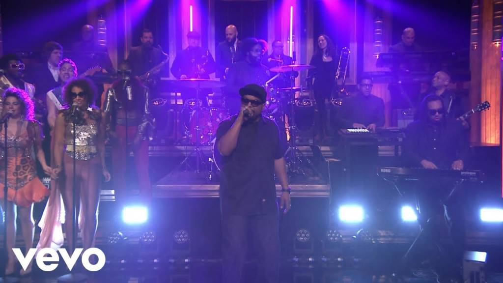 Ice Cube Performs 'That New Funkadelic' On The Tonight Show Starring Jimmy Fallon