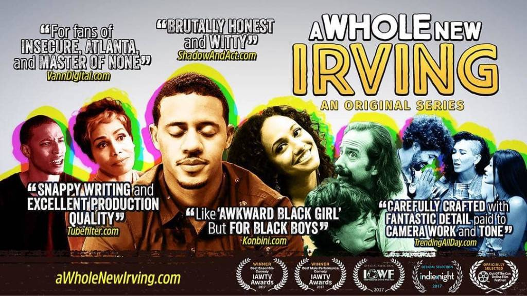 Filmmaker Terry Dawson Speaks On @AWholeNewIrving & More w/@VannDigital