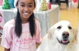 This 11-Year Old Girl Has Her Own Brand Of Organic Doggie Treats...