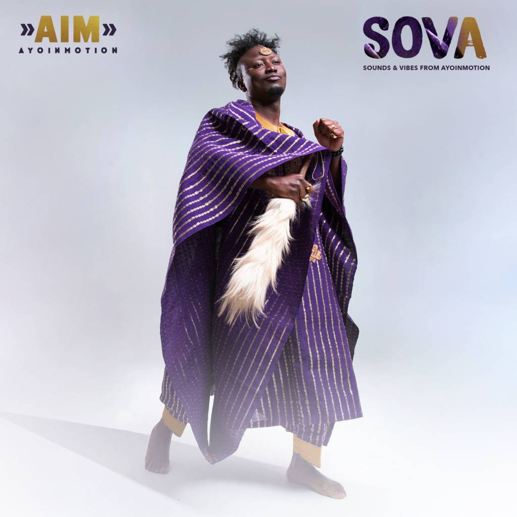 Stream Ayoinmotion's 'SOVA (Sounds & Vibes From Ayoinmotion)' EP
