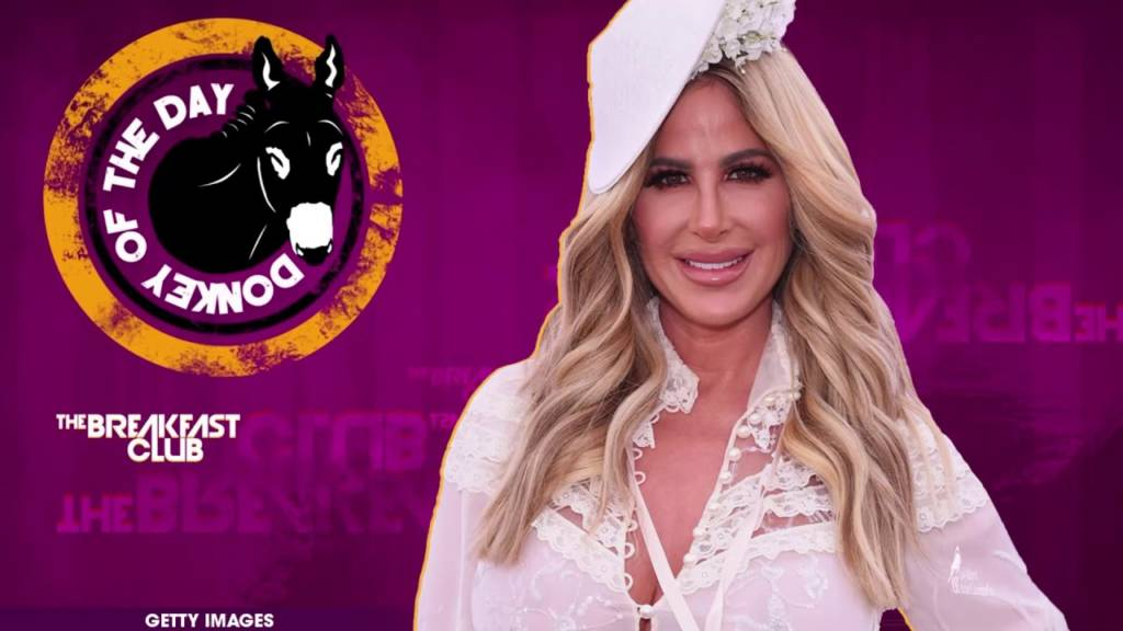 Kim Zolciak Awarded Donkey Of The Day For Claiming Racism 'Wasn't Real' On Real Housewives Of Atlanta Reunion
