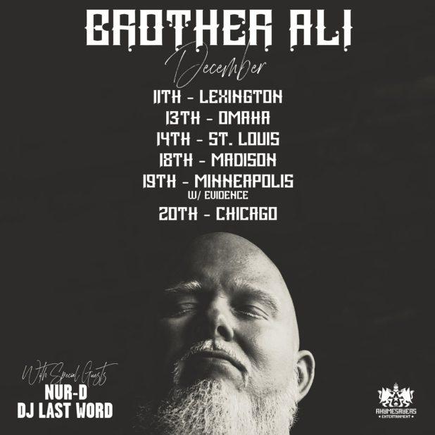 Stream Brother Ali's Evidence-Produced 'Secrets & Escapes' Album