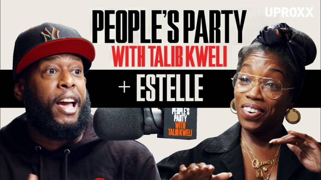 Estelle On 'People's Party With Talib Kweli'