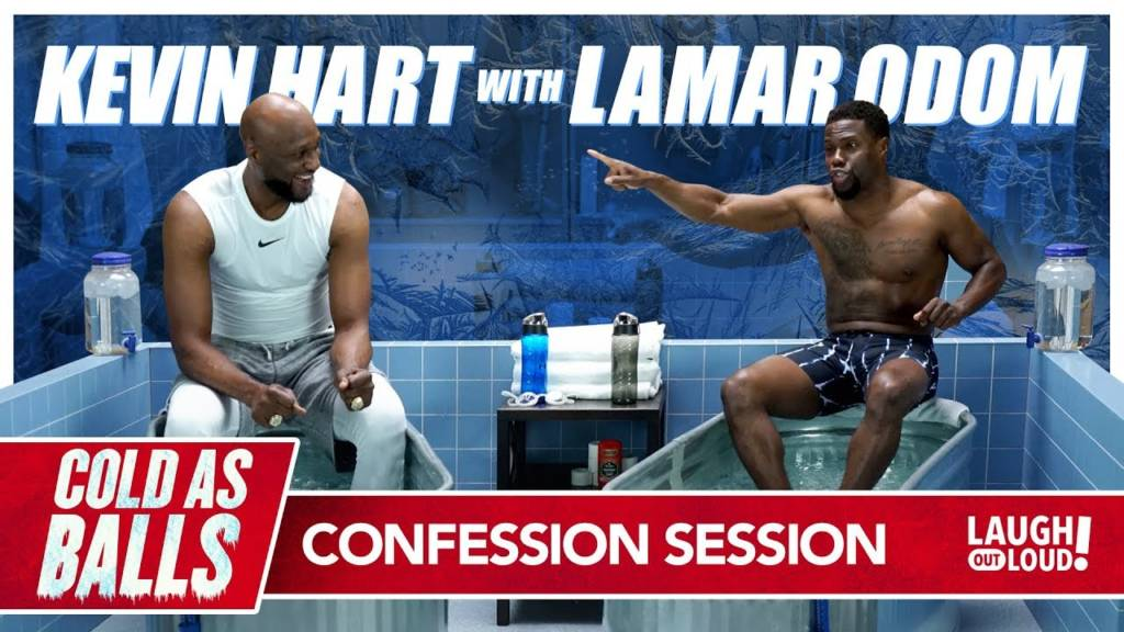 Kevin Hart Takes Lamar Odom To A Happy Place That's Cold As Balls