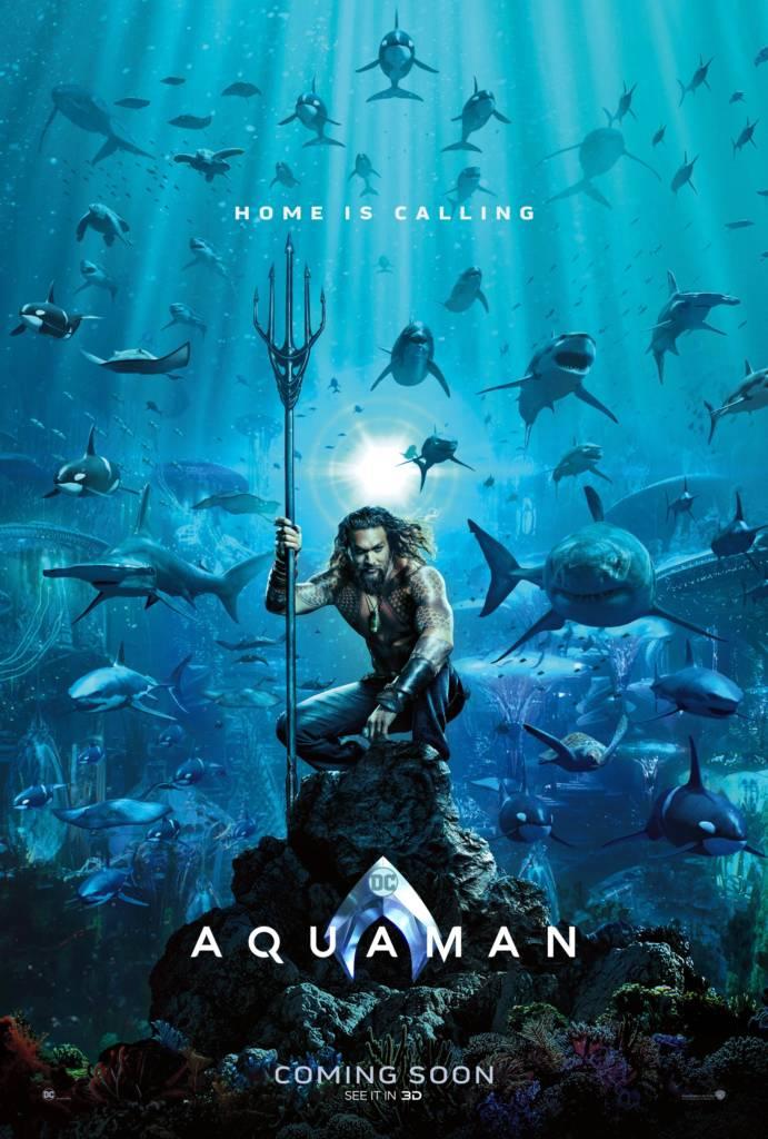 1st Trailer For 'Aquaman' Movie (#Aquaman)