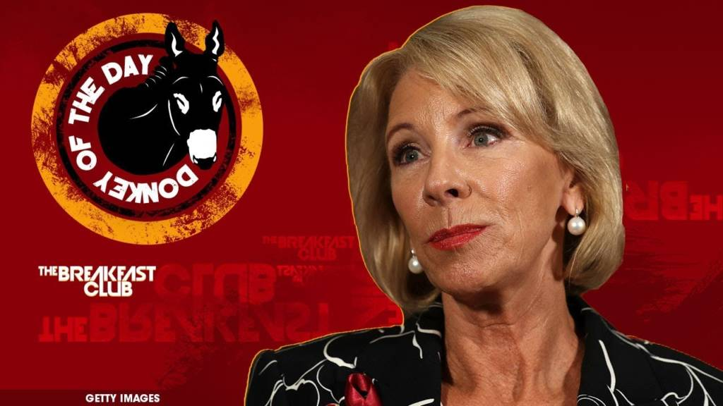 Secretary Of Education Betsy DeVos Awarded Donkey Of The Day For Saying She Hasn't 'Intentionally' Visited Underperforming Schools