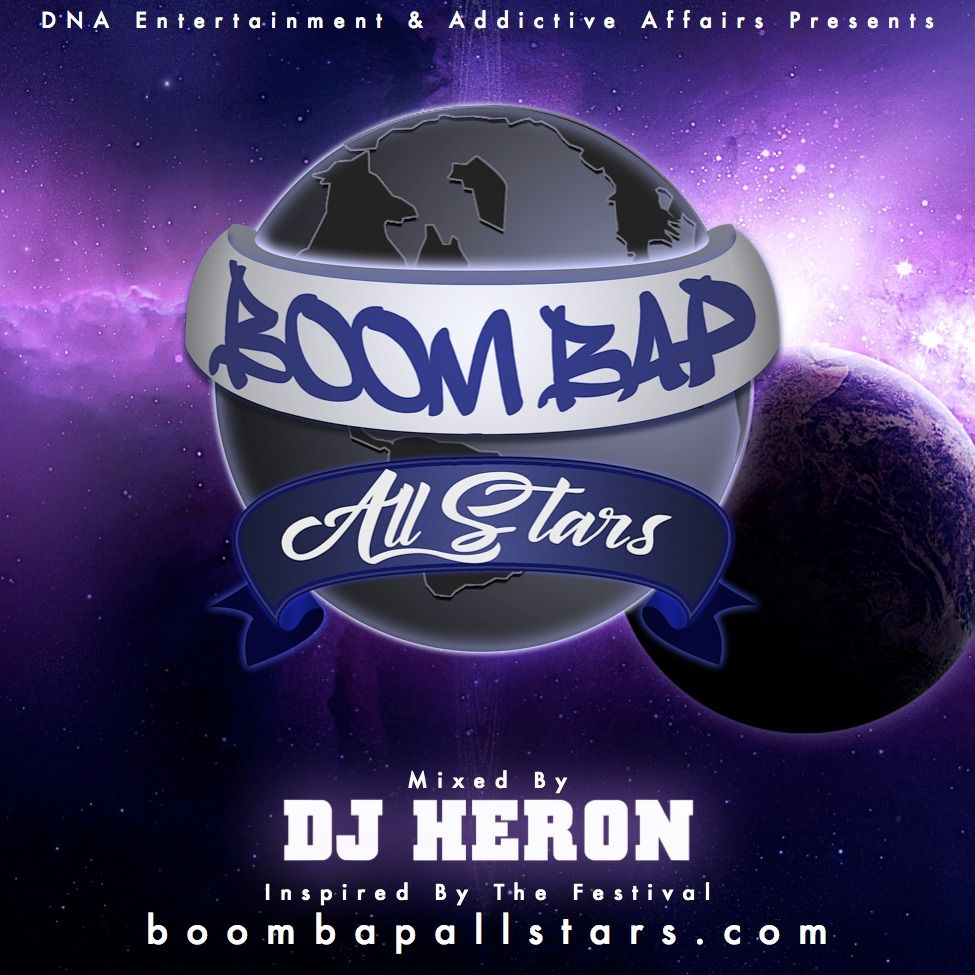 Stream @DJ_Heron's 'Boom Bap All Stars' Mixtape