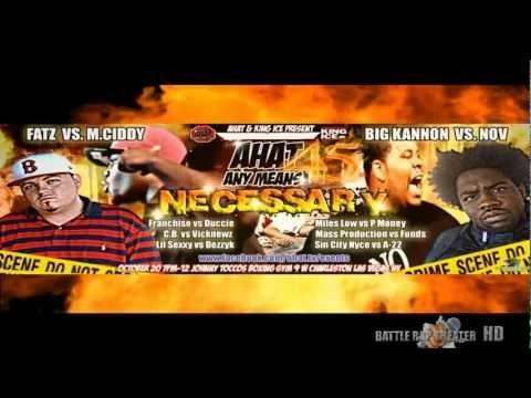 Battle Rap Theater (@Est_Wood77) Presents AHAT 45: Any Means Necessary » Trailer [via @OD702]