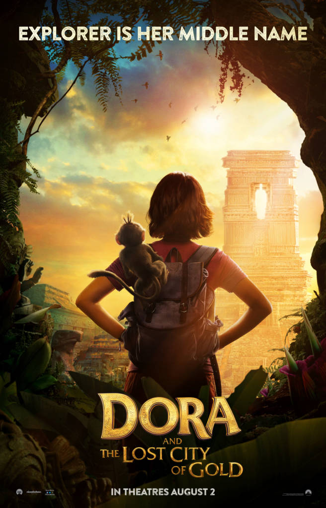 1st Trailer For 'Dora & The Lost City Of Gold' Movie