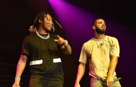 Drake & Future performing together back in April 2016