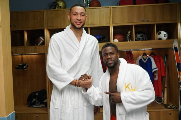 Ben Simmons On Kevin Hart's 'Cold As Balls All-Stars'