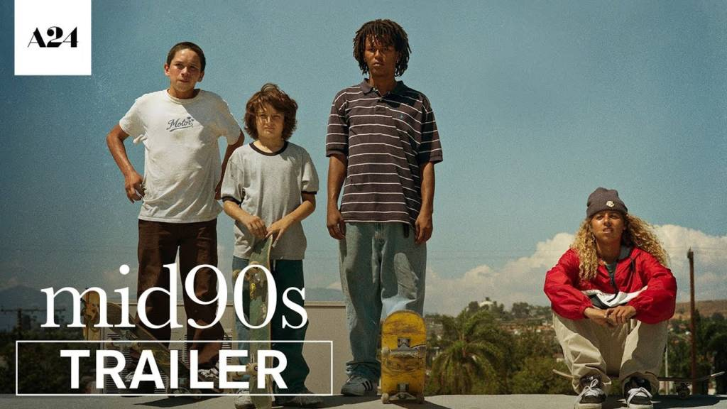 2nd Trailer For 'Mid90s' Movie (#Mid90s)