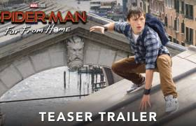 1st Trailer For 'Spider-Man: Far From Home' Movie Starring Samuel L. Jackson & Zendaya