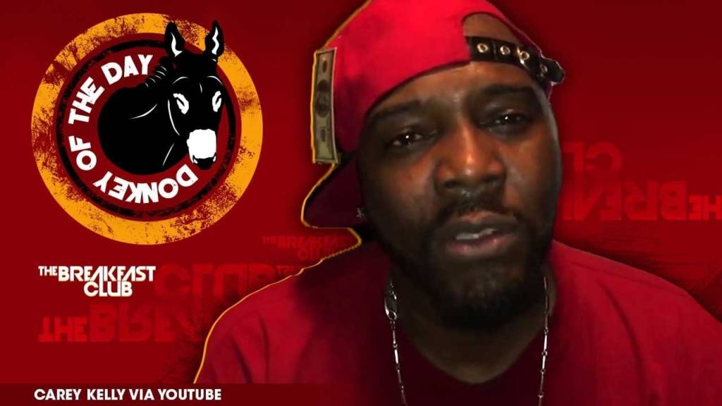 R. Kelly's Brother, Carey Kelly, Awarded Donkey Of The Day For Dropping Trash Diss Record