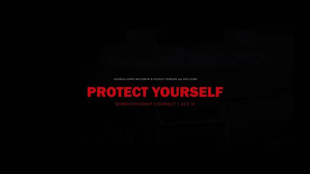 Video: Georgia Anne Muldrow & Declaime (G&D) - Protect Yourself + P.A.L.