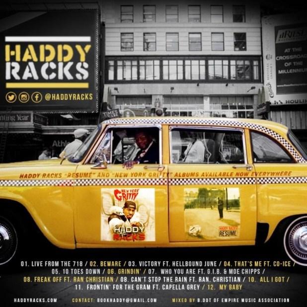 Stream @HaddyRacks' 'Live From The 718' Mixtape