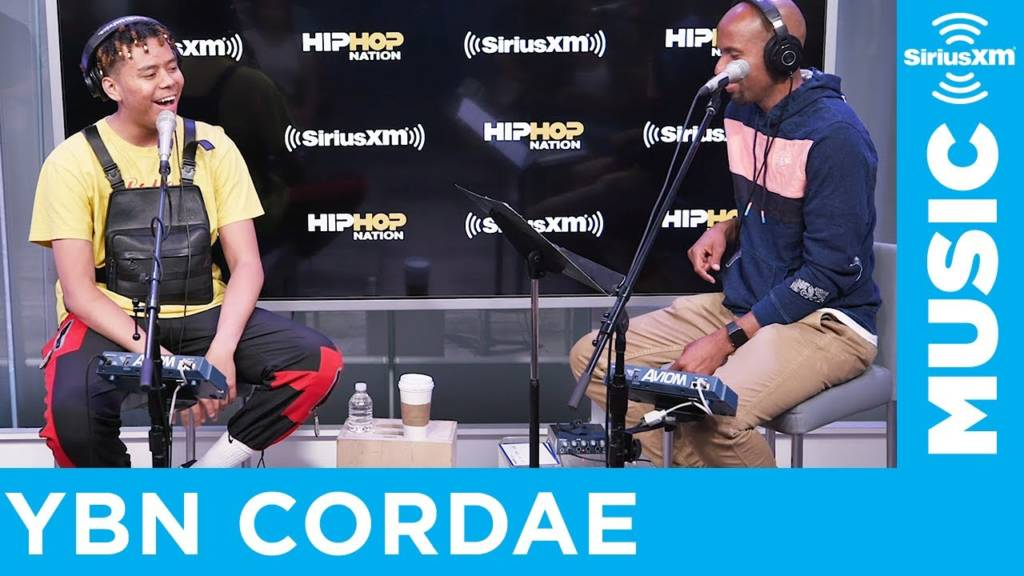 YBN Cordae Talks Working w/Dr. Dre,  Anderson .Paak & J. Cole + Performance On SiriusXM's Hip Hop Nation