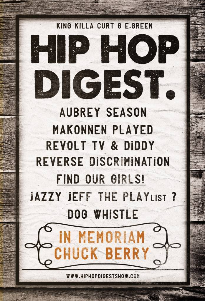 It's 'Aubrey Season' On This Week's Episode Of The @HipHopDigest Show