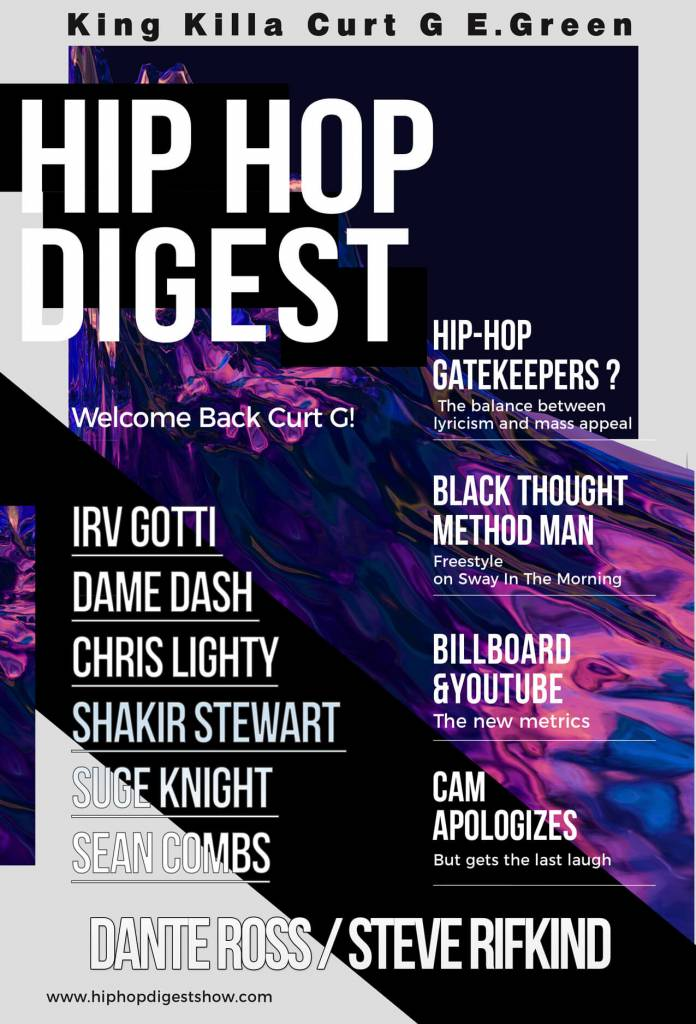 The @HipHopDigest Show Is Back w/'The Full Monty'