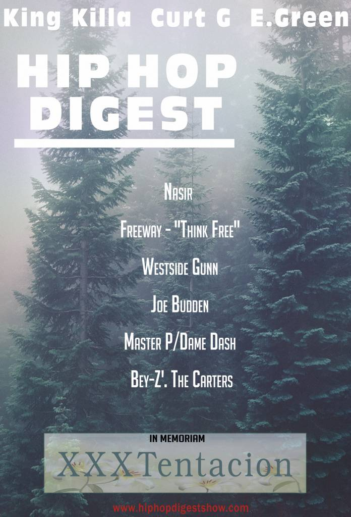 The Hip-Hop Digest Show Encourages Listeners To 'Increase The Peace' (@HipHopDigest)