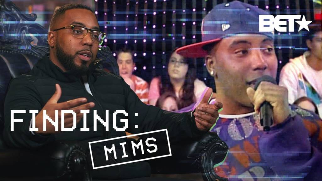 Mims On BET's 'Finding'