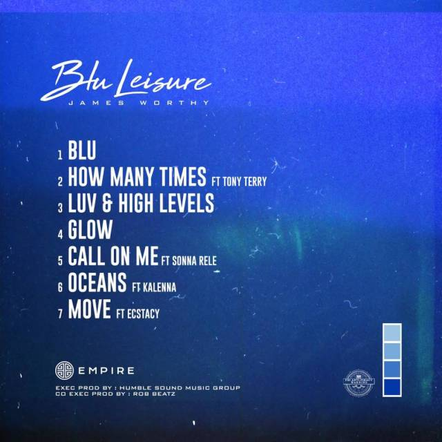 Stream James Worthy's 'Blu Leisure' EP