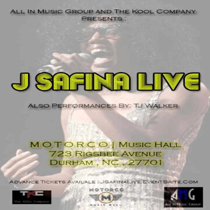 @All_In2012 & @TheKoolCompany Present #JSafinaLIVE (@J_Safina) At Motorco Music Hall