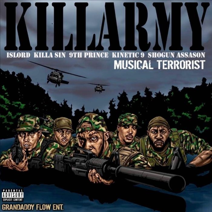 MP3: Killarmy - Musical Terrorist [Prod. RZA]