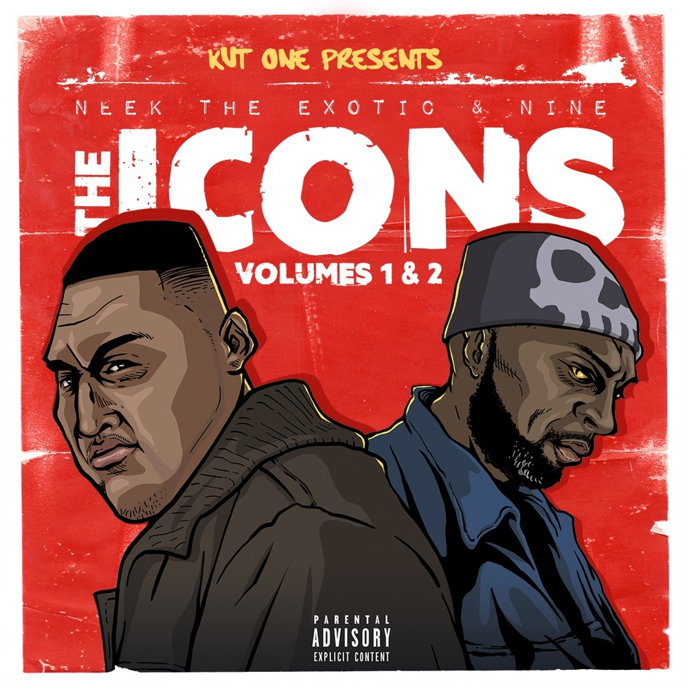 Stream Kut One, Neek The Exotic, & Nine's 'The Icons, Vol. 1 & 2' Collabo EP