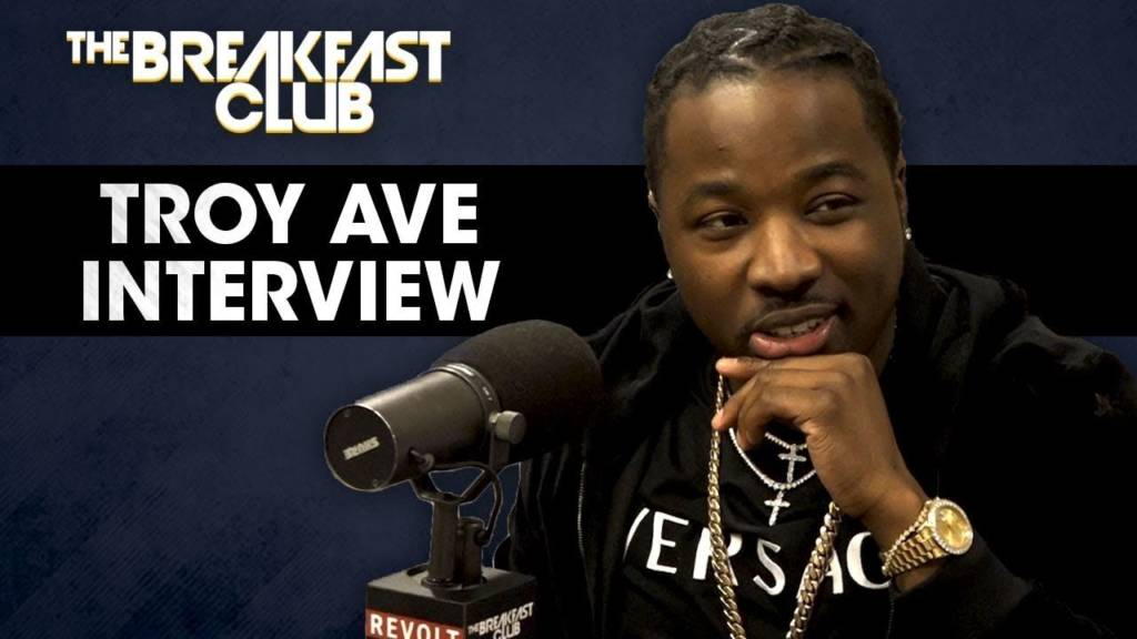 Troy Ave Takes The Stand + Talks '2 Legit 2 Quit', Street Cred, & More On The Breakfast Club