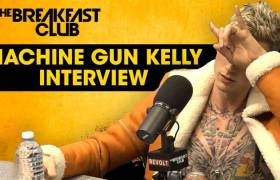 Machine Gun Kelly Breaks Down Eminem Feud, Halsey Rumors, Mac Miller's Death, 'Binge' EP, & More w/The Breakfast Club (@MachineGunKelly)