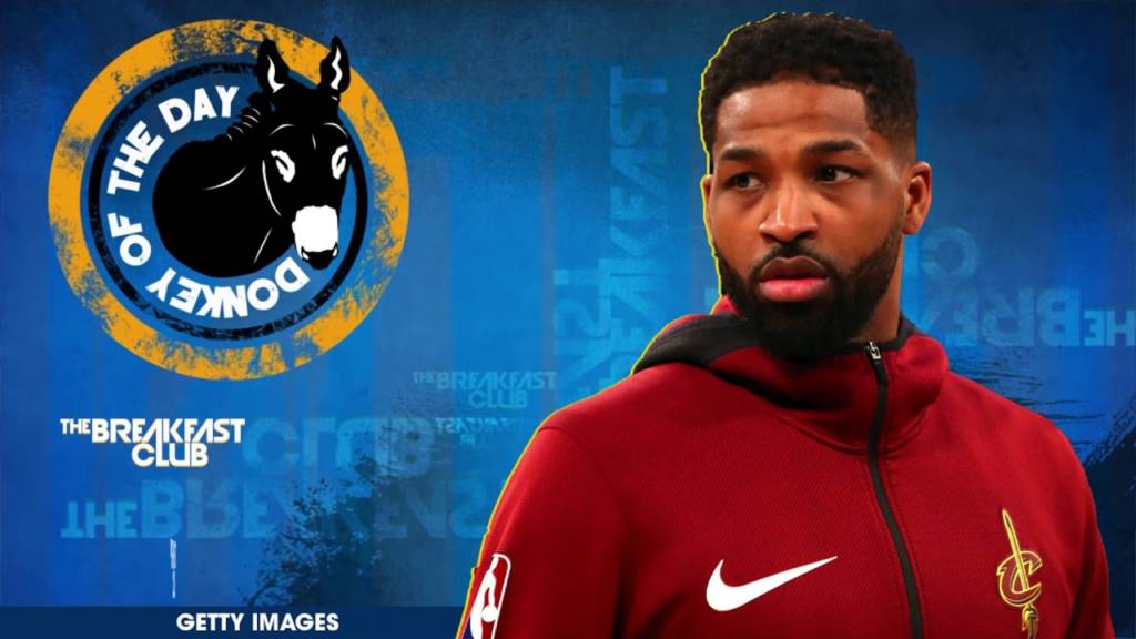 Tristan Thompson Awarded Donkey Of The Day For Getting Caught Cheating On Khloe Kardashian Again