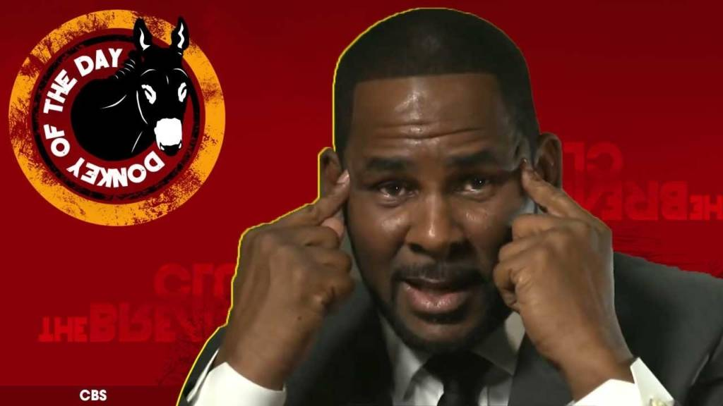 R. Kelly Awarded Donkey Of The Day For Lying & Denying In Interview w/Gayle King
