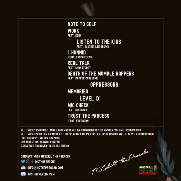 Stream MCskill ThaPreacha's 'The 9th Chapter' Album (@MCThaPreacha)