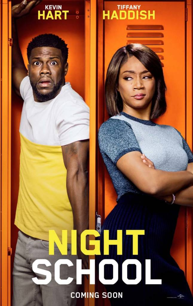 2nd & 3rd Trailers For 'Night School' Movie Starring Kevin Hart & Tiffany Haddish