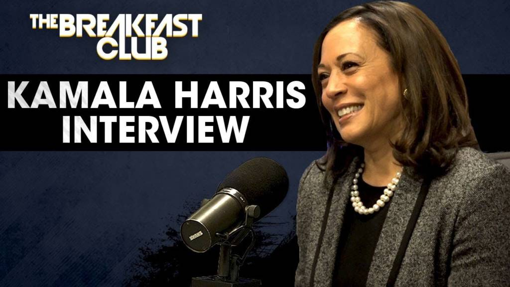 Senator Kamala Harris On Education, Decriminalizing Weed, Gun Control, & Why Debating Is Important w/The Breakfast Club (@KamalaHarris)