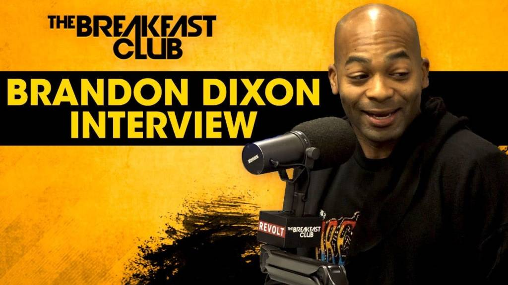 Brandon Victor Dixon On Politics, Misguided Social Ideologies, Black Ownership, & More w/The Breakfast Club