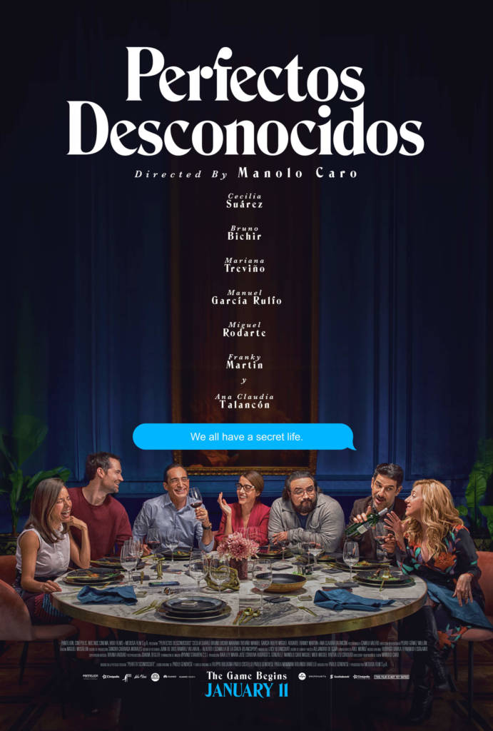 1st Trailer For 'Perfect Strangers (Perfectos Desconocidos)' Movie