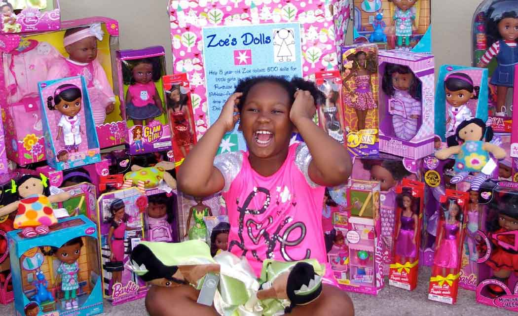 11-Year-Old Philanthropist Zoe Terry Donates Black Dolls To Black Girls As Gifts