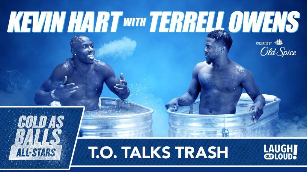 Kevin Hart & Terrell Owens Talk Trash + Speak On Best Celebration Dances On 'Cold As Balls All-Stars'