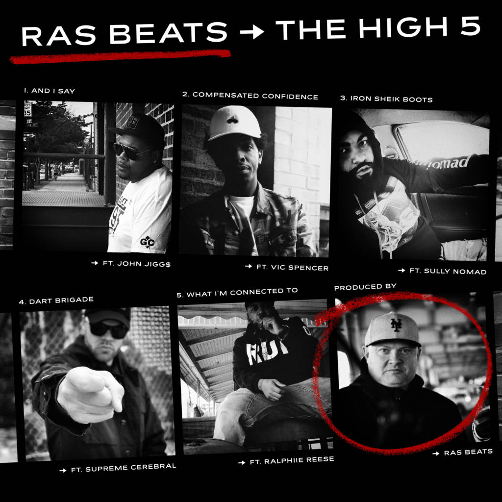 Ras Beats Drops 'The High 5' EP & 'Iron Sheik Boots' Track feat. Sully Nomad