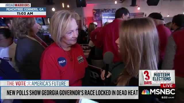 White Georgia Voter Claims That 'If African-Americans Are Being Disenfranchised, It's Because They're Too Dumb To Follow Directions'