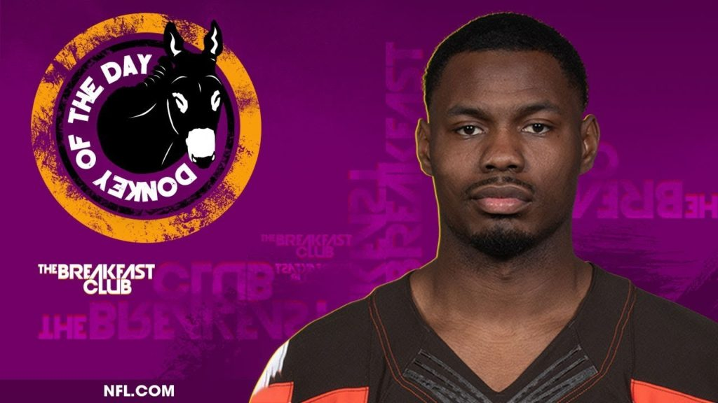 Cleveland Browns Safety Jermaine Whitehead Awarded Donkey Of The Day For Social Media Tantrum