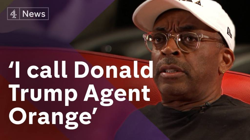 Spike Lee Speaks On Trump, BlacKKKlansman, & Charlottesville w/Channel 4 News