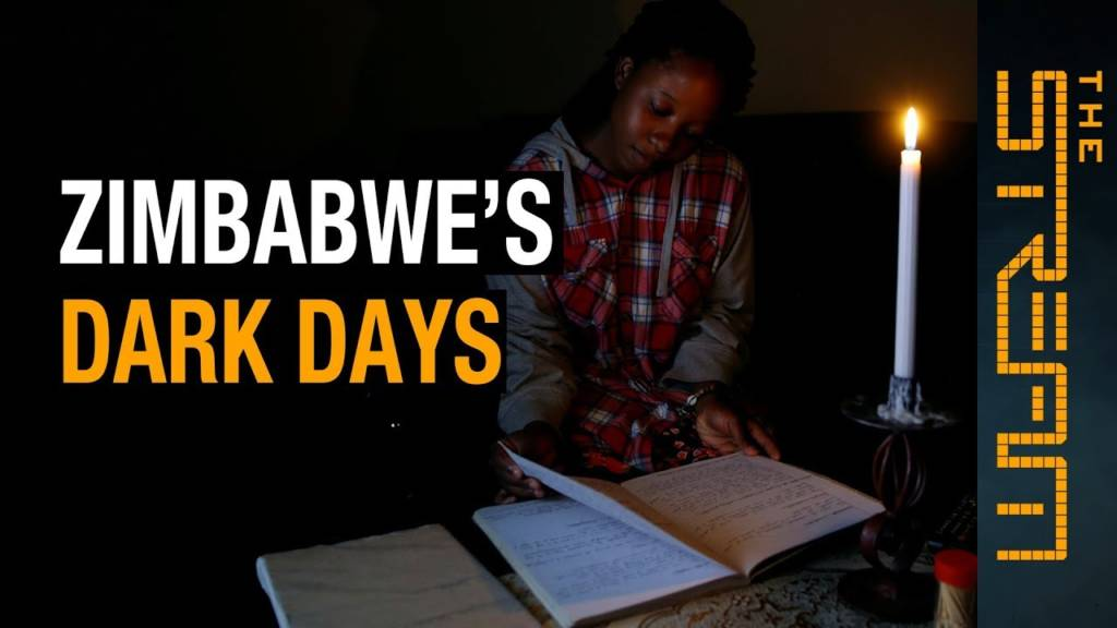 Al Jazeera English's The Stream Asks 'Why Do The Lights Keep Going Out In Zimbabwe?'