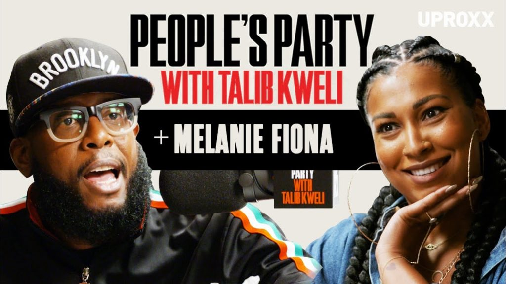 Melanie Fiona On 'People's Party With Talib Kweli'