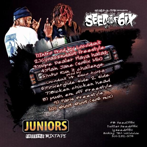 DJ Paul (Of Three 6 Mafia) Introduces His Nephews, Seed Of 6ix, w/'Juniors' Mixtape (@SeedOf6ix)