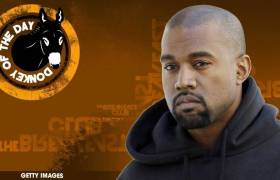 Kanye West Awarded Donkey Of The Day For Going On Twitter Rant Aimed At Drake