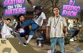 Skatin' On You Haters Front Cover