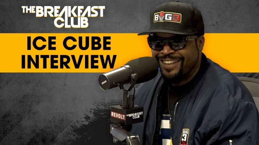 Ice Cube On BIG3 & Why He Wants To 'Kill The G.O.A.T.' w/The Breakfast Club   @IceCube